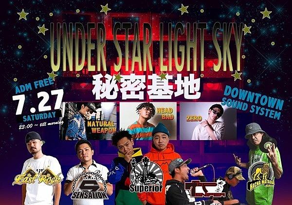 UNDER STAR LIGHT SKY